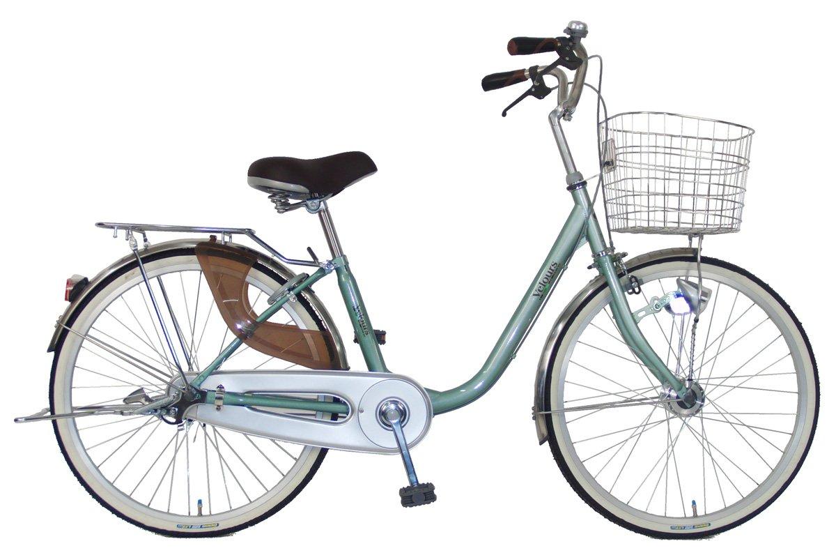 C.Dream(シードリーム) ヴェロアスペシャル VL61-SP 26インチ自転車 シティサイクル ミント 100%組立済み発送   B078V2TMKH
