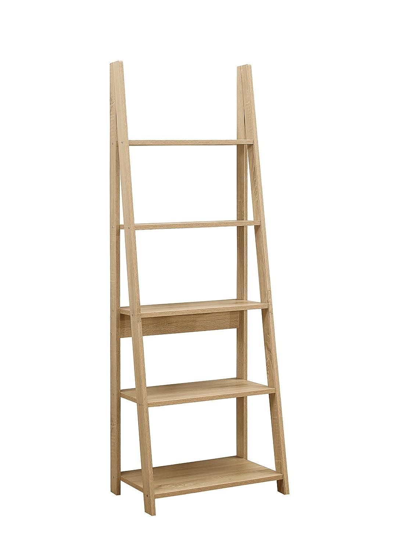 99a2169aaf75 Birlea Nordic Ladder Bookcase, Wood, Oak: Amazon.co.uk: Kitchen & Home