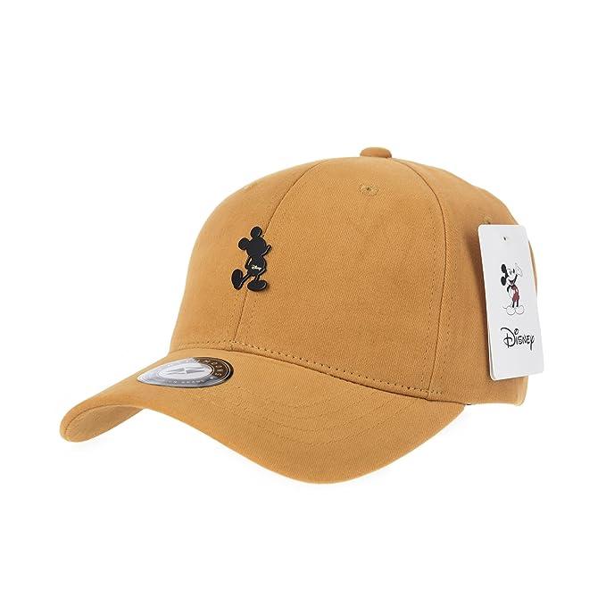 WITHMOONS Gorras de béisbol Gorra de Trucker Sombrero de Disney Mickey  Mouse Baseball Cap Metalic Patch 395fe77bdbc