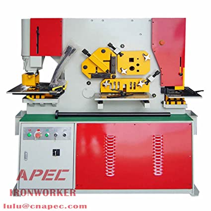 APEC Hydraulic Ironworker AIW-60 with Relative Tools (AIW-60