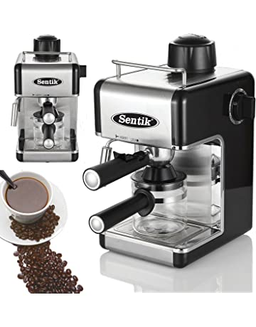 Sentik® Professional Espresso Cappuccino Coffee Maker Machine Home - Office (Black)