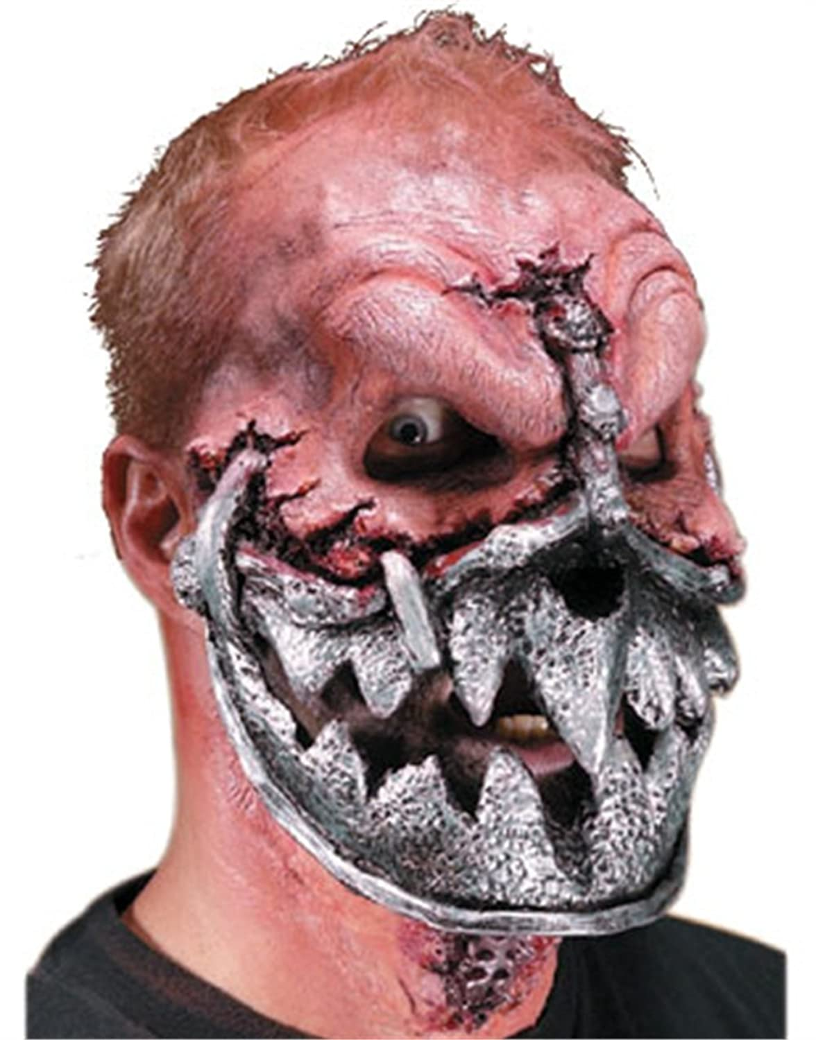 Amazon.com: Reel FX Robot Jaw Theater Quality Makeup Costume Mask ...