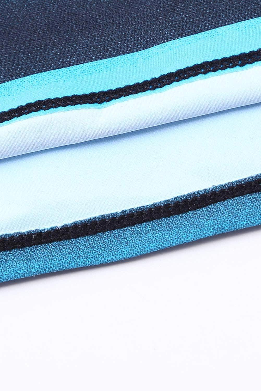 Graces Secret Swimsuits for Women Criss Cross Two Piece Tankini Top with Boyshorts S-XXXL