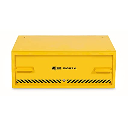 aa9ab4d5fade72 Van Vault S10347 X-Large Stacker Tool Chest - Yellow  Amazon.co.uk  DIY    Tools