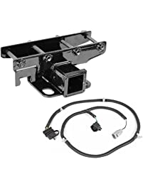 Outland 391158051 Receiver Hitch Kit with Wiring Harness for JK, 1 Pack