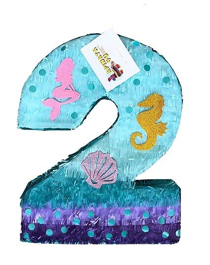 Amazon.com: APINATA4U - Piñata de tamaño grande con número ...