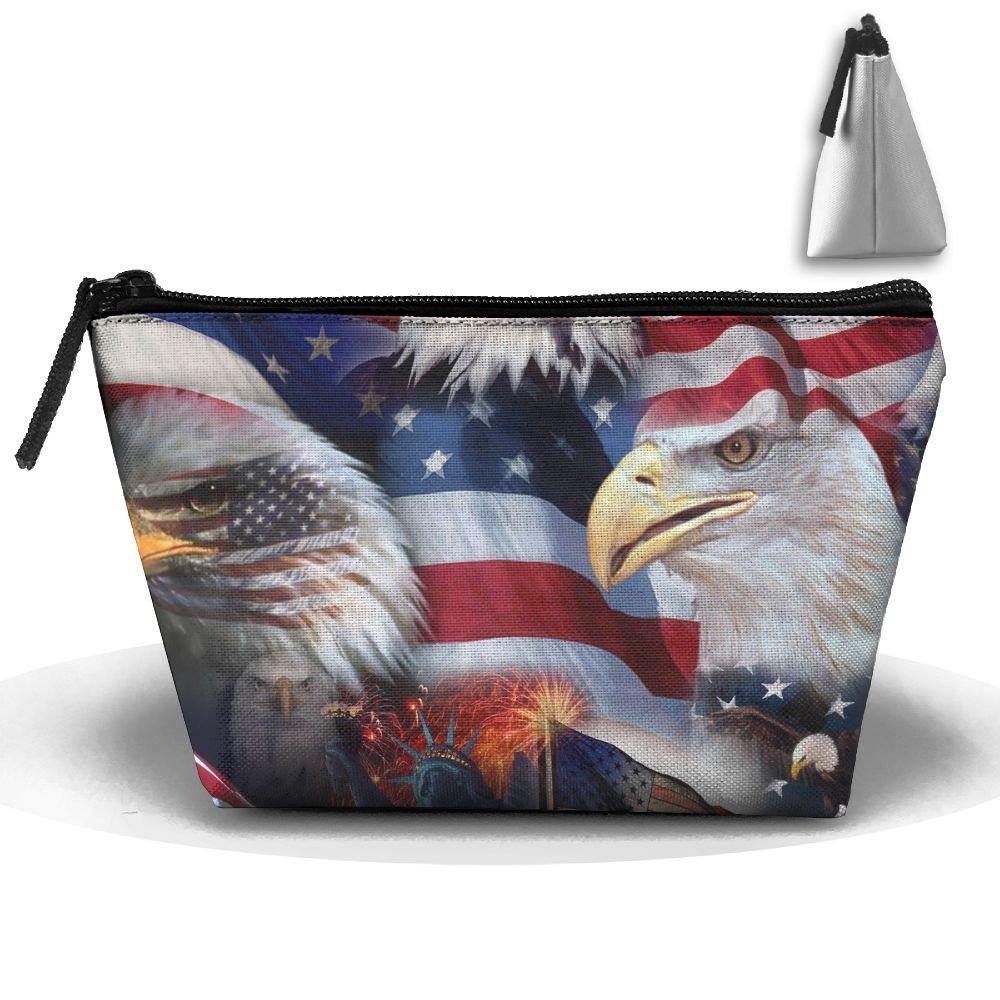 229b559207 low-cost Chion Eagle American Flag Hand Bag Pouch Portable Storage Bag  Clutch Handbag