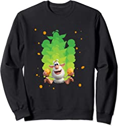 Sliding Green Booba Sweatshirt