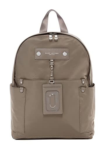 e55a9f2367103 Amazon.com  Marc Jacobs Preppy Nylon Backpack (Quartz Grey ...
