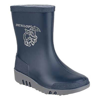 46e02d38e6bcd Dunlop - Bottes en Caoutchouc à Motif éléphant - Enfant Unisexe  Amazon.fr   Chaussures et Sacs