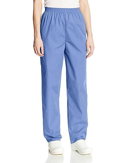 Cherokee Batas Ropa de Trabajo para Mujer Pantalones Cargo Pant: Amazon.es: Ropa y accesorios