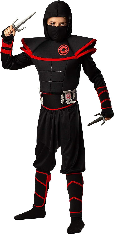 Amazon.com: Bad Bear - Disfraz de ninja para niños (12 ...