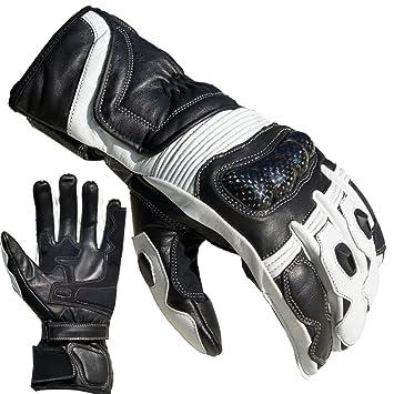 PROANTI Motorradhandschuhe Summer Motorrad Handschuhe Gr. M - XXL, Wei/ß