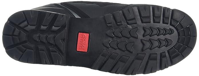 Gola - Zapatillas de Senderismo de Sintético Hombre, Color Negro, Talla 43: Amazon.es: Zapatos y complementos