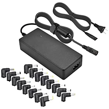 Amazon.com: Cargador de portátil universal de 90 W AC para ...
