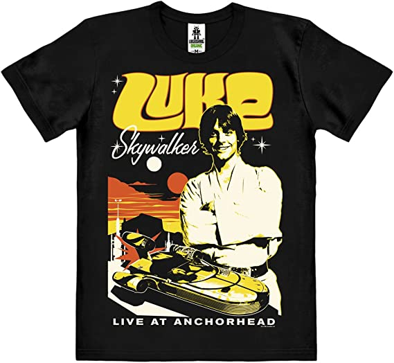 Logoshirt Star Wars - Luke Skywalker Camiseta 100% algodón ...