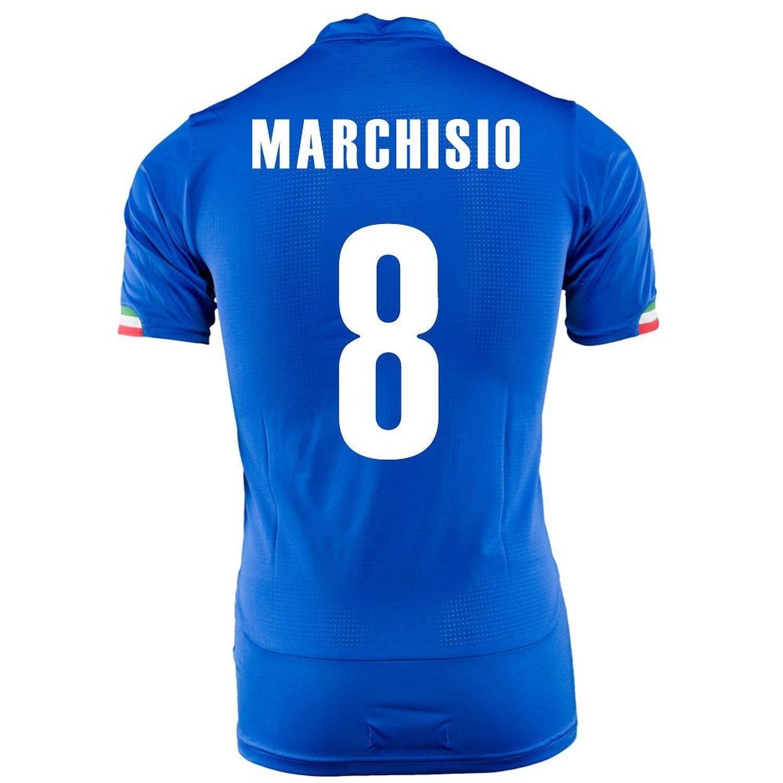 Puma Marchisio #8 Italy Home Jersey World Cup 2014 -Youth/サッカーユニフォーム イタリア ホーム用 マルキジオ 背番号8 ワールドカップ2014 ジュニア向け B019HN3A70 Y-Medium, LEDHIDカーパーツ通販オートエッジ df223c9d