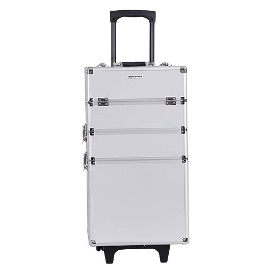 55 opinioni per Songmics® trolley make up Beauty Case Nail Art Valigia Cofanetto Porta Gioie