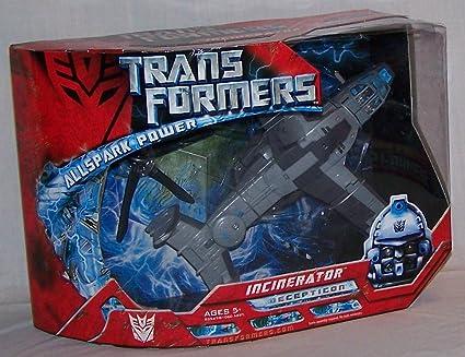 Transformers Movie Incinerator Complete Voyager Allspark Helicopter