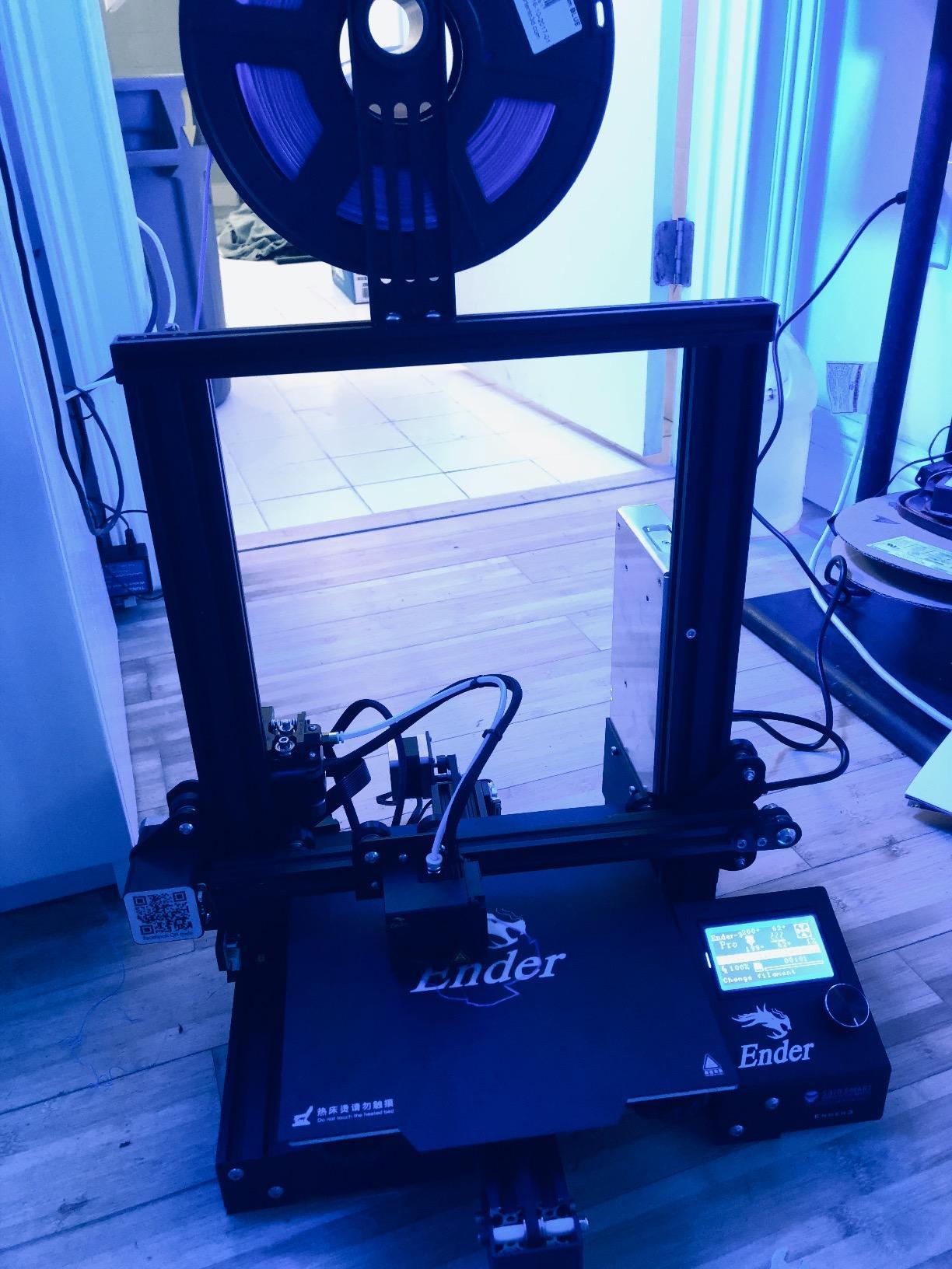 SainSmart x Creality Ender-3 3D Printer, Resume Printing V-Slot