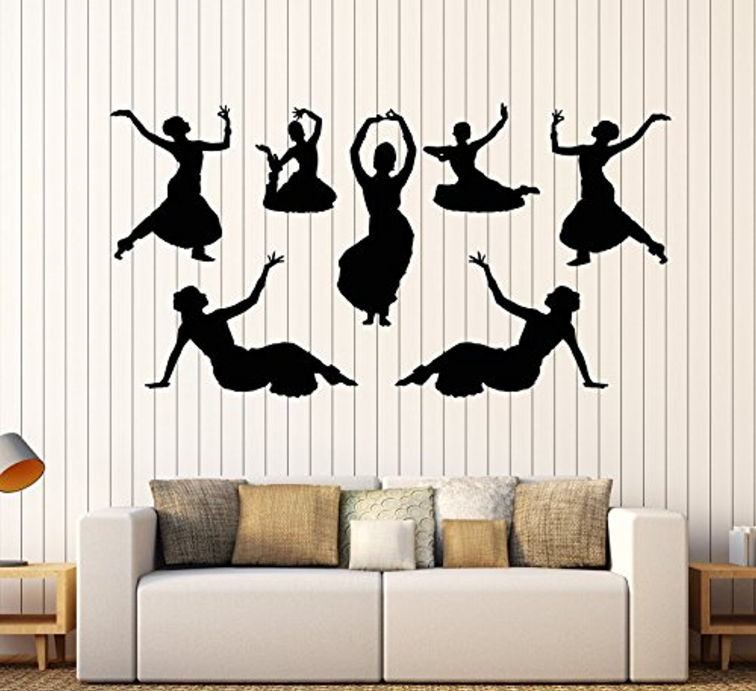 Andre Shop® Vinyl Wall Decal Indian India Dance Dancers Girls Devadasi Hindu Stickers Large Decor1907ig