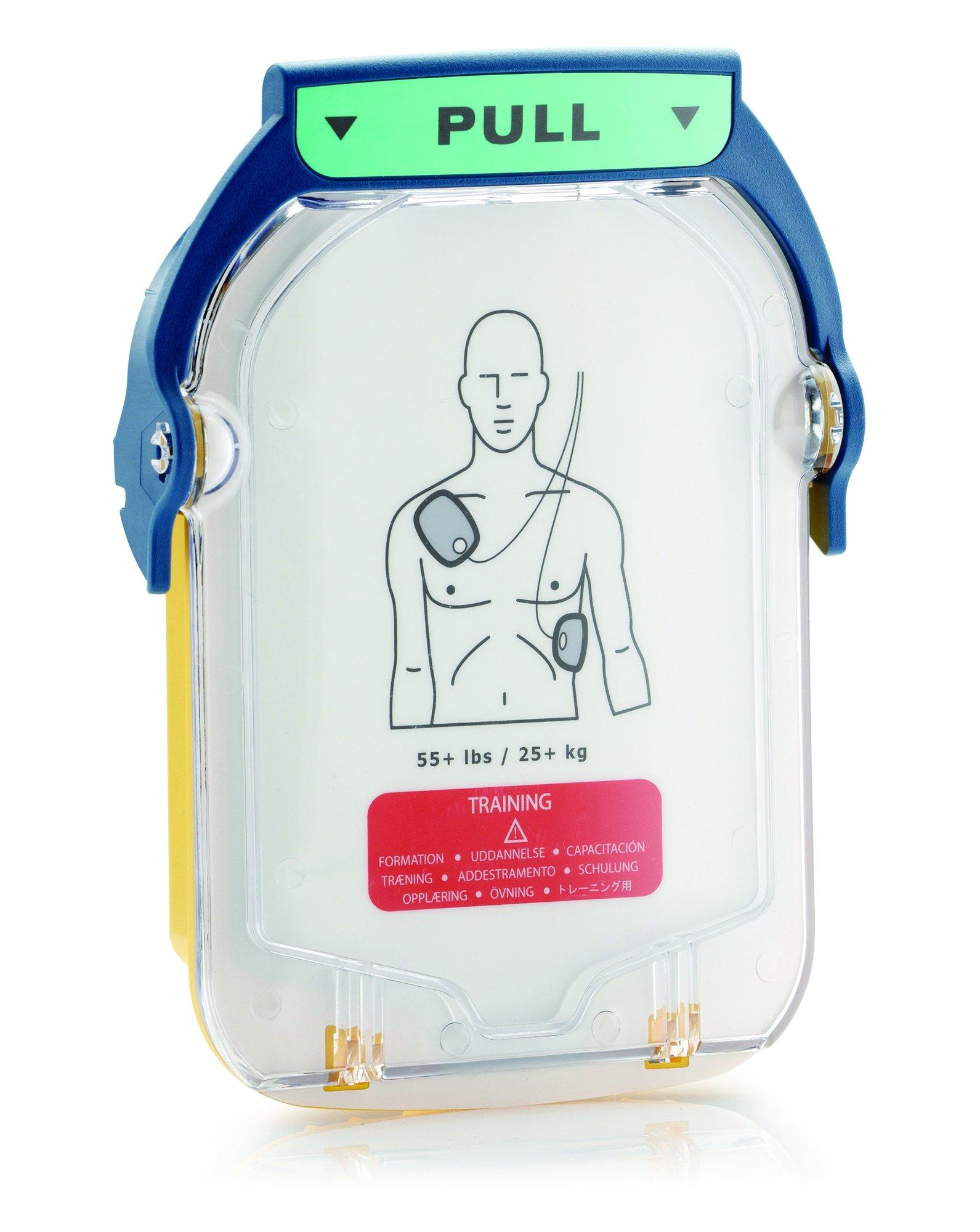 Philips HeartStart AED Defibrillator Replacement Adult Training Pads Cartridge by HeartStart