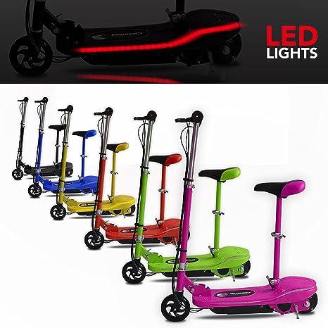 We R Sports® Patinete eléctrico, funciona con batería ...