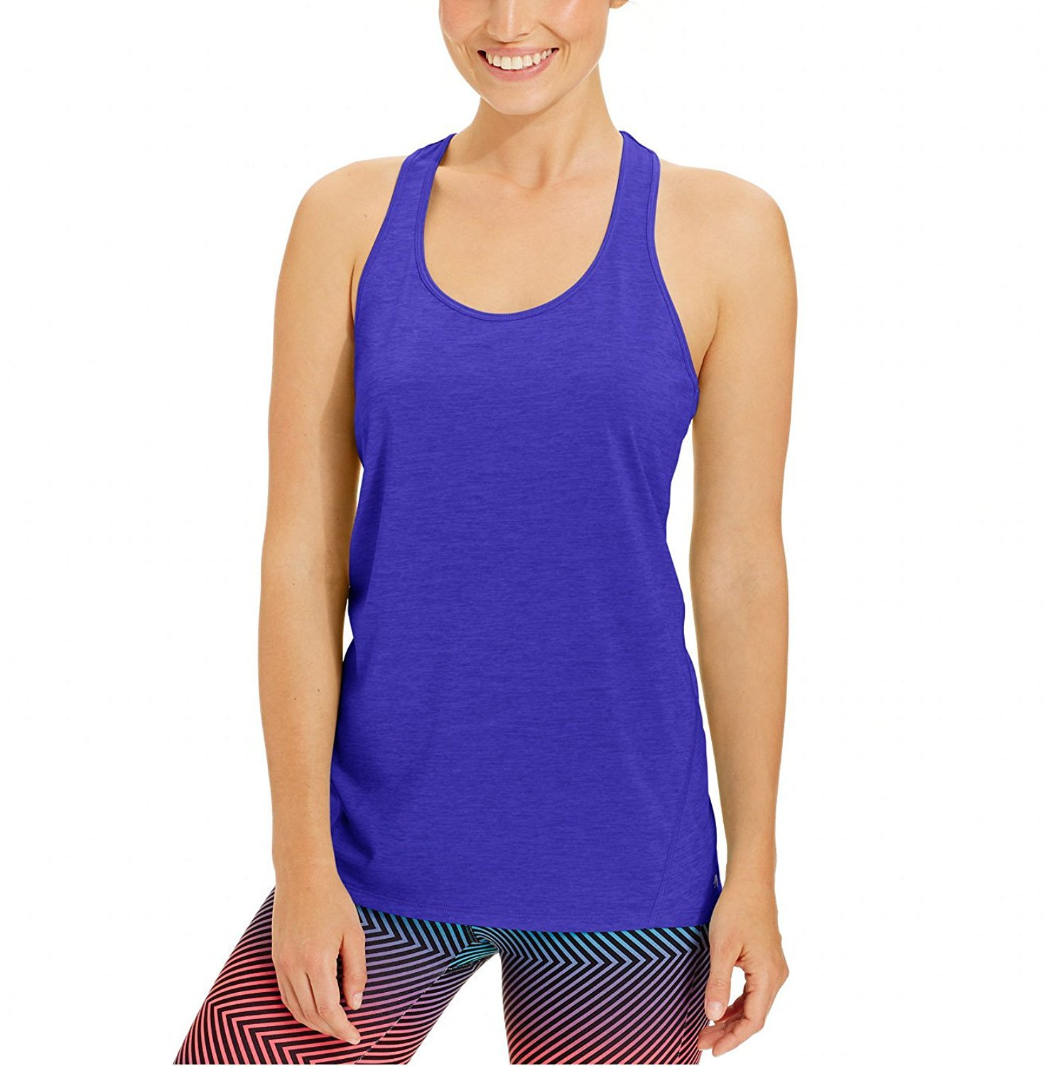 Ideology Essential Racerback Performance Tank Top 75815 (Small, Blazing Purple)