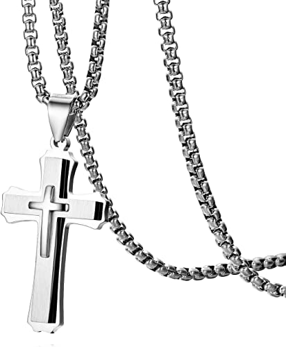 PENDANT STAINLESS STEEL 316L MEN/'S JEWELLERY NECKLACE 04