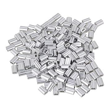 cnbtr 1,5 mm doppelt Metallkappen Remasuri Aluminium Crimpen ...