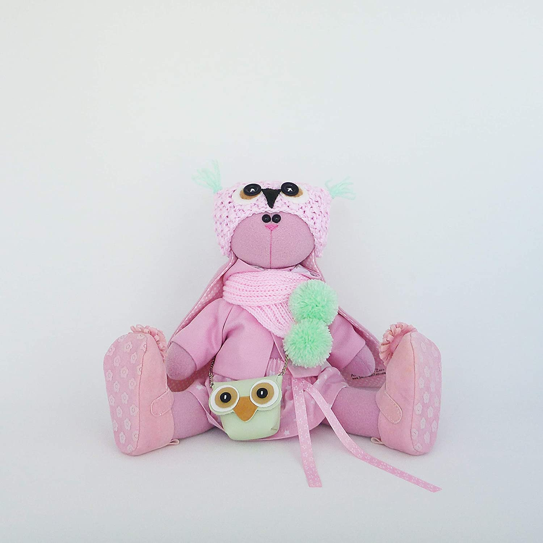 handmade by ZuzuHappyToys Easter bunny doll 14.5 inch