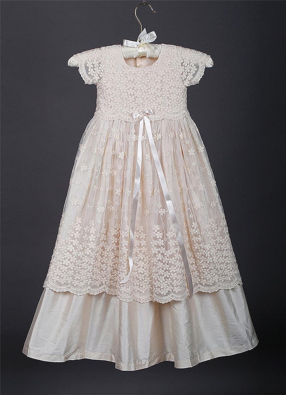 Newdeve Christening Dresses For Baby Girls Infant Girl Flower Dress