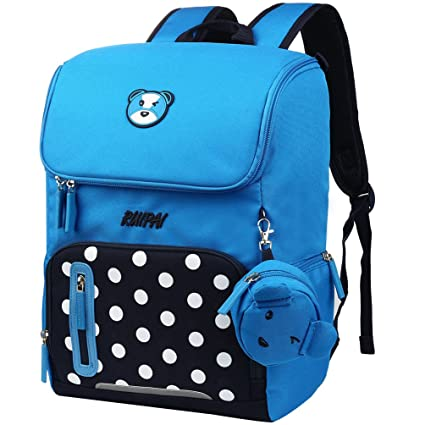 f83a2ecf1c2e vbiger Unisex Student Backpack Stylish Children School Bag Multi-Functional  Book Bags Practical Kids Shoulders Bag  Amazon.in  Toys   Games