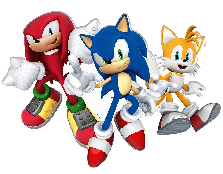 ALMACENESADAN 1005, Pack Fiesta y cumpleaños Total Sonic, 12 Invitados (93 Piezas)