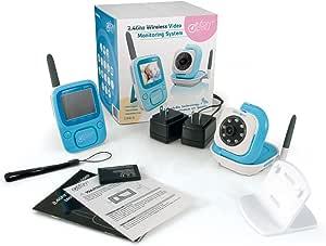 Infant Optics DXR-5 Portable Video Baby Monitor Blue
