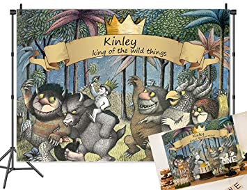 Amazon.com: MC personalizado King of The Wild Thing Tema ...