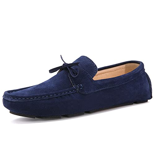 Dahanyi Stylish Autumn Women Loafers Moccasin Homme Casual Suede Leather Shoes Moccasins Slip On Woman Shoes
