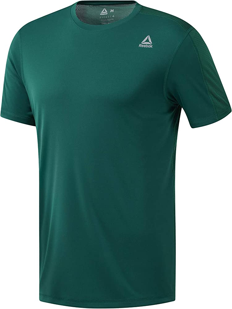 Reebok Wor Tech Top-Regular Camiseta, Hombre, clogrn, S: Amazon.es ...