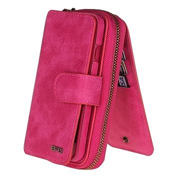 b3bda26922 Amazon | iphone7 Plusケース iphone8 Plusケース 手帳型 化粧鏡 財布 ...