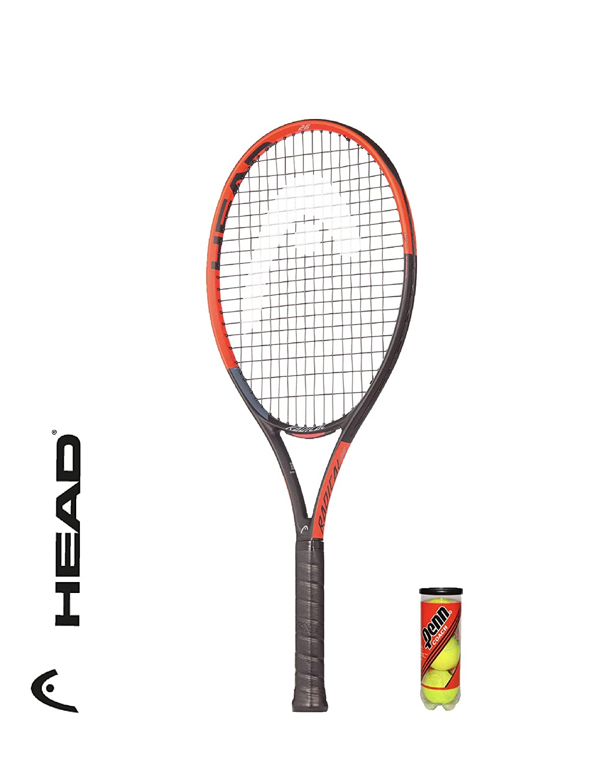 Head Radical - Raqueta de Tenis para niños (Incluye 3 Pelotas de ...