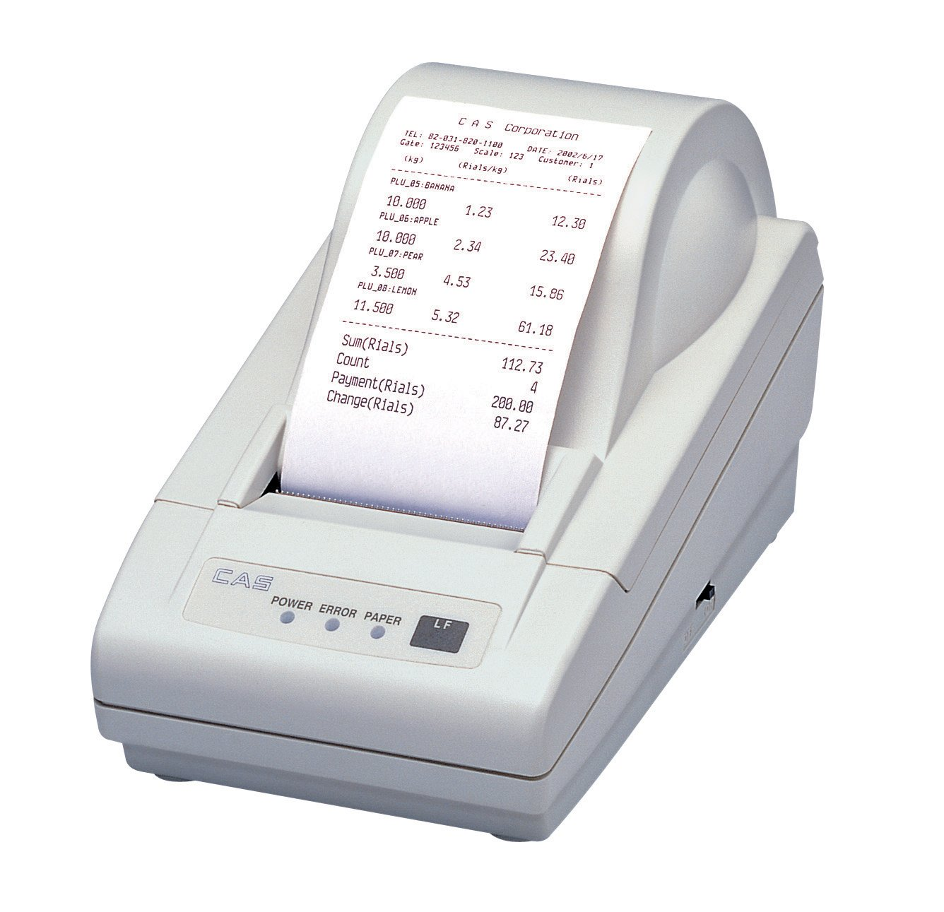 CAS DEP-50 Thermal Receipt Printer for S2000JR/EC/ED Series Scale by CAS