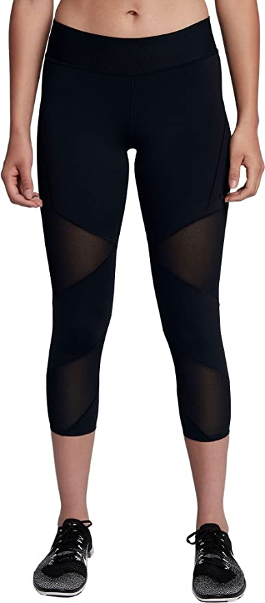 18c213c1bfc71 Amazon.com : Nike Women's Fly Lux Crop Training Tights : Sports ...