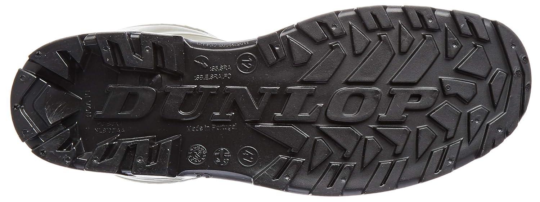 color Verde Dunlop S5 H142011 Botas de seguridad con punta y entresuela de acero para hombre talla 46