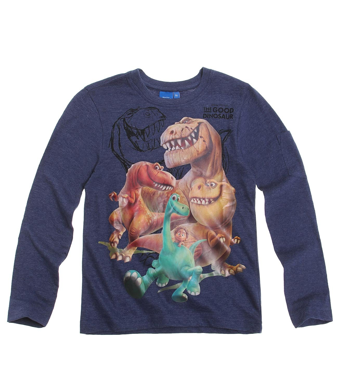 Disney Arlo & Spot Jungen Langarmshirt - Blau