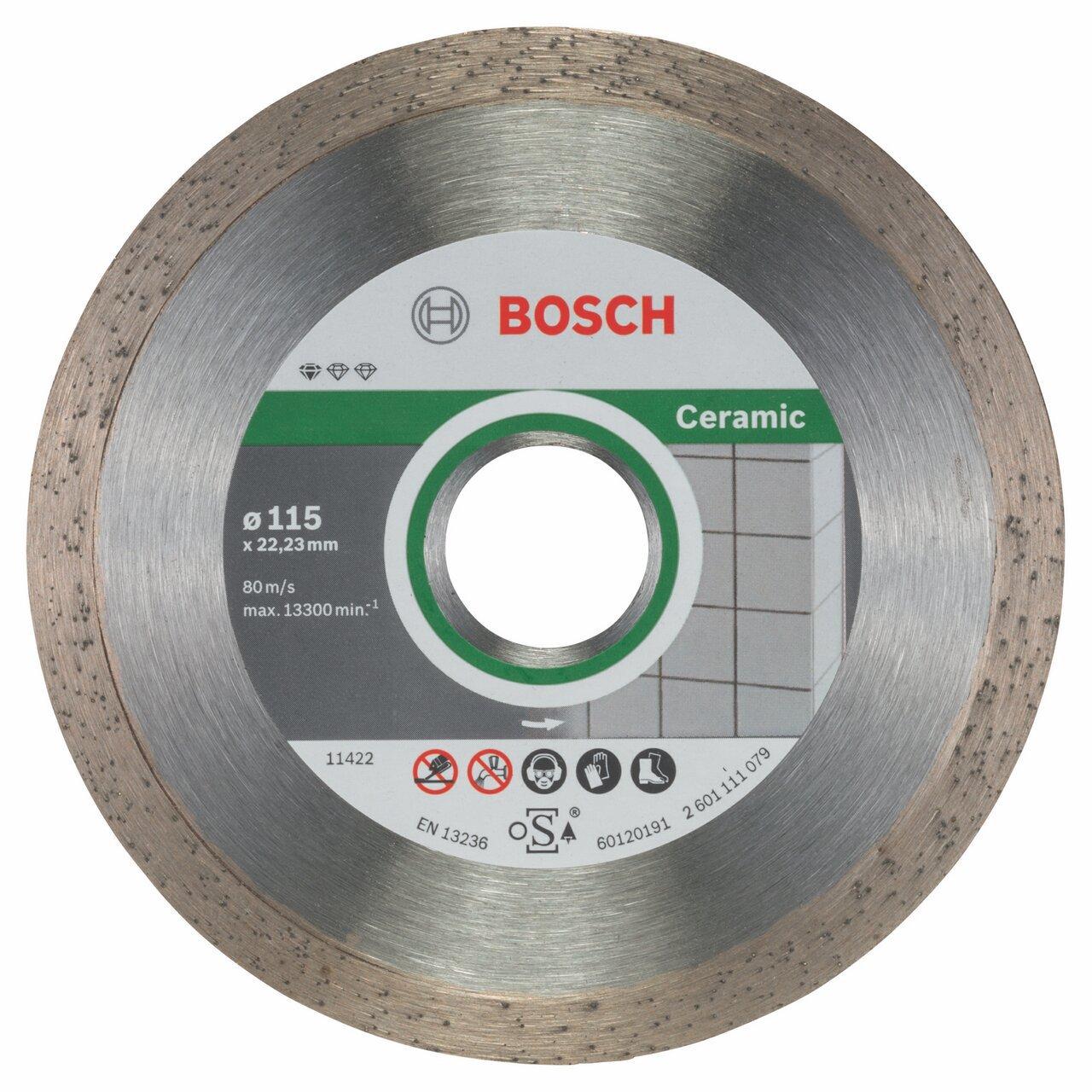 Bosch 2608603231 s 11,5 cm, 10 pieza accesorios para amoladoras angulares