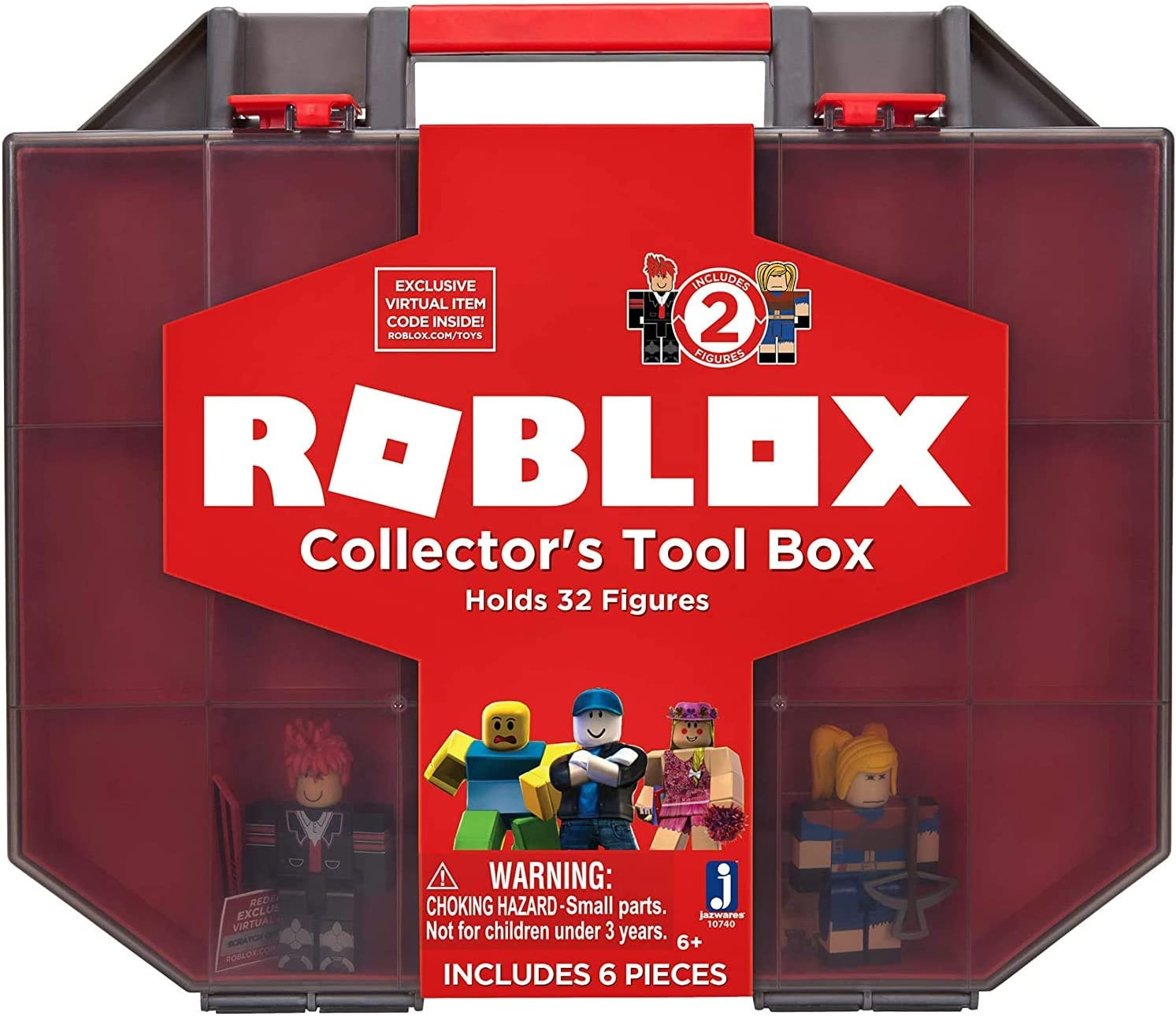 Two Music Boxes Roblox Id Amazon Com Roblox Action Collection Collector S Tool Box And Carry Case That Holds 32 Figures Includes Exclusive Virtual Item Amazon Exclusive Toys Games