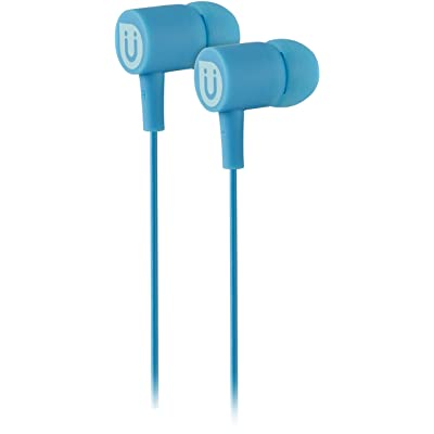Uber in Ear Wired Earbuds, Comfortable Rubber Headphones, 3.5mm, High Sound Quality, Extra Earbud Tips, for Apple iPhone, iPad, iPod, Android Smartphones, Samsung Galaxy, Tablets & More, Blue, 13122: Electronics