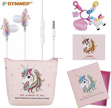 Amazon.com: DTMNEP Unicorn Gifts - Auriculares para niñas ...