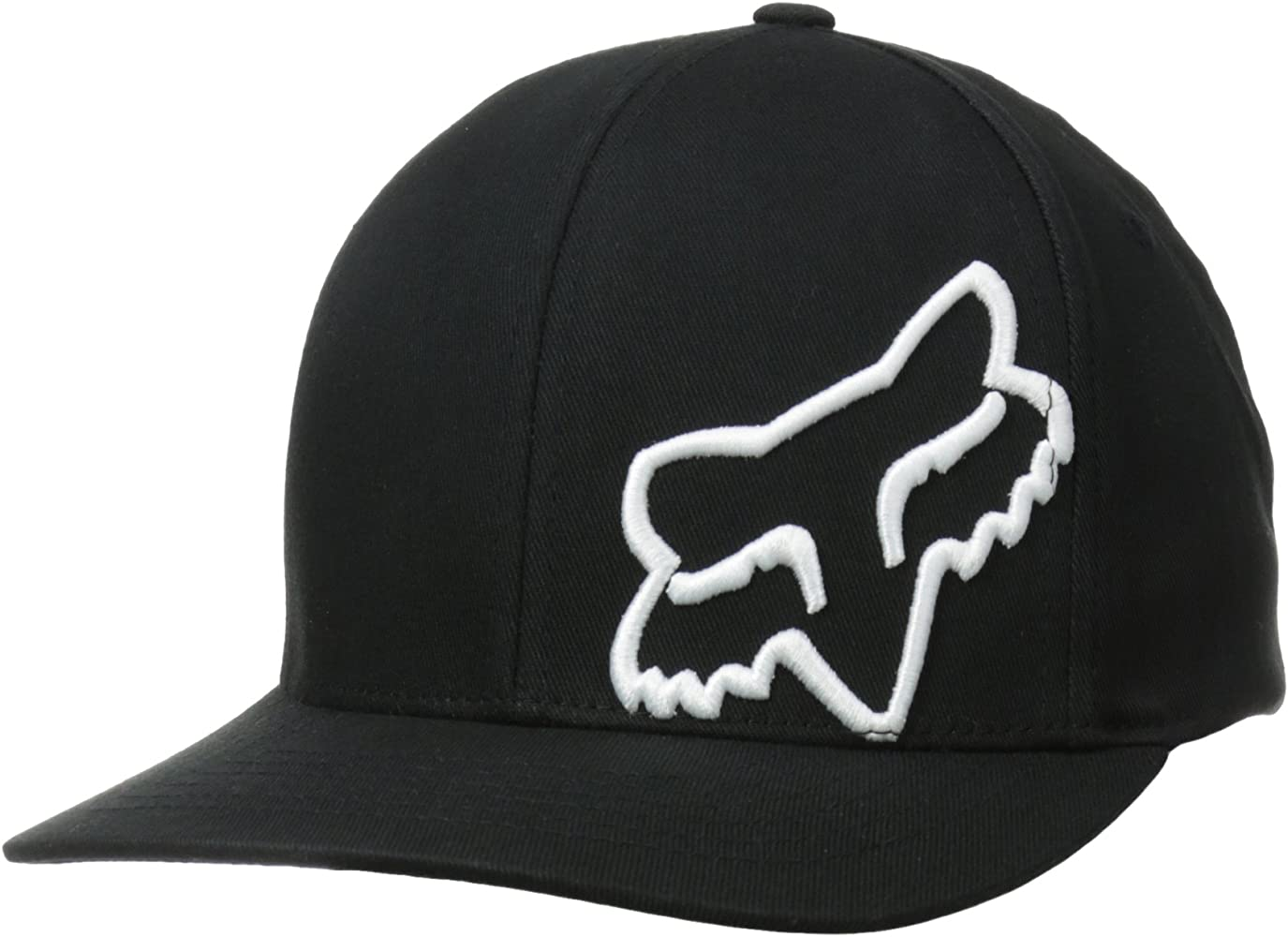 Flex 45 Flexfit Hat Black/White: Amazon.es: Coche y moto
