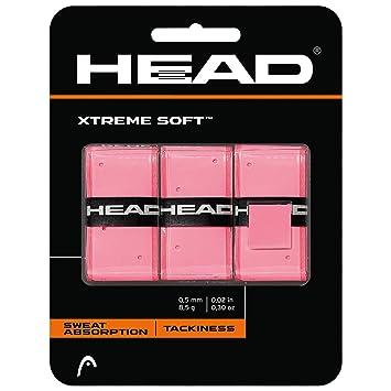 Head Xtremesoft Overgrip, Unisex Adulto, Rosa, Talla Única: Amazon ...